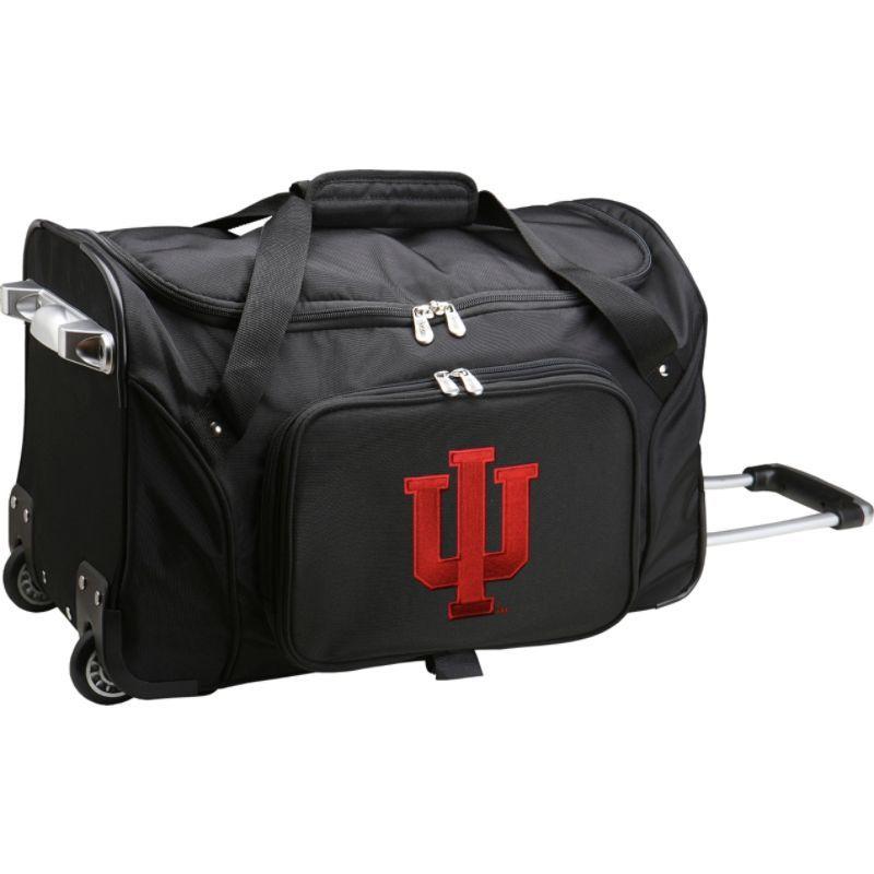 デンコスポーツ メンズ スーツケース バッグ NCAA 22 Rolling Duffel Indiana University Hoosiers