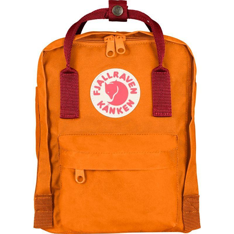 フェールラーベン メンズ バックパック・リュックサック バッグ Kanken Mini Backpack Burnt Orange-Deep Red