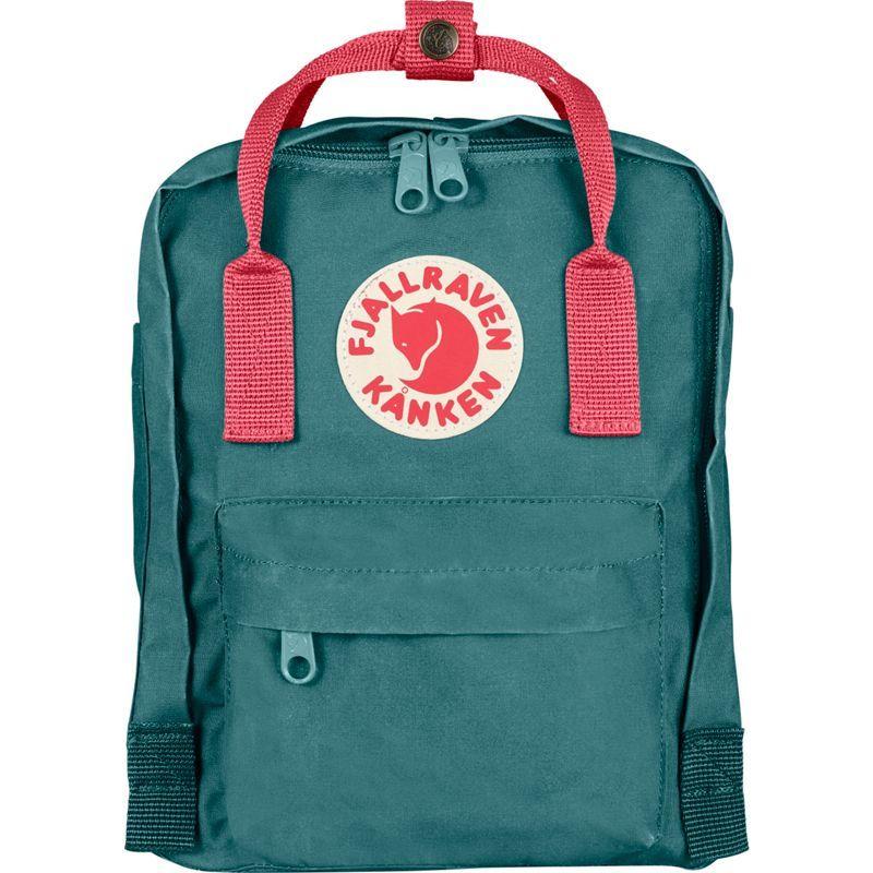 フェールラーベン メンズ バックパック・リュックサック バッグ Kanken Mini Backpack Frost Green-Peach Pink