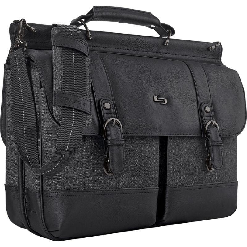 ソロ メンズ スーツケース バッグ Bradford 15.6 Briefcase Black