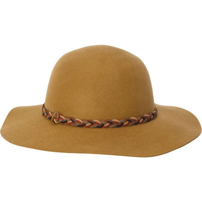 アドラ メンズ 帽子 アクセサリー Wool Felt Floppy Hat Pecan