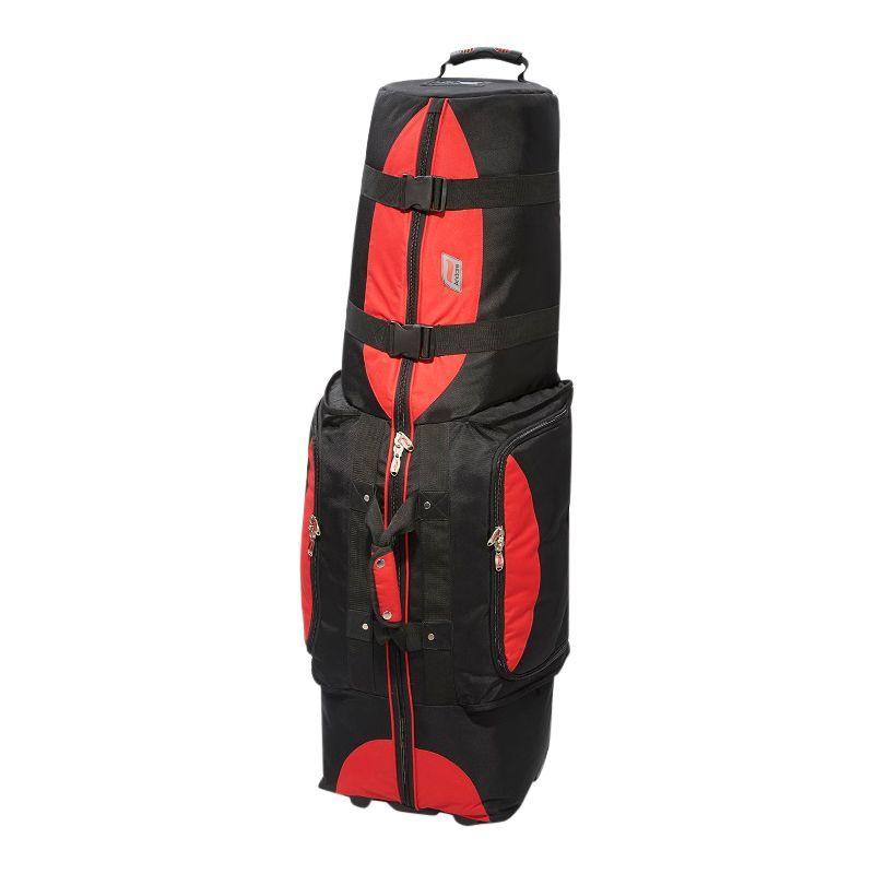アンデア メンズ ボストンバッグ バッグ Regiment Softside Wheeled Golf Set Travel Cover Red/ Black
