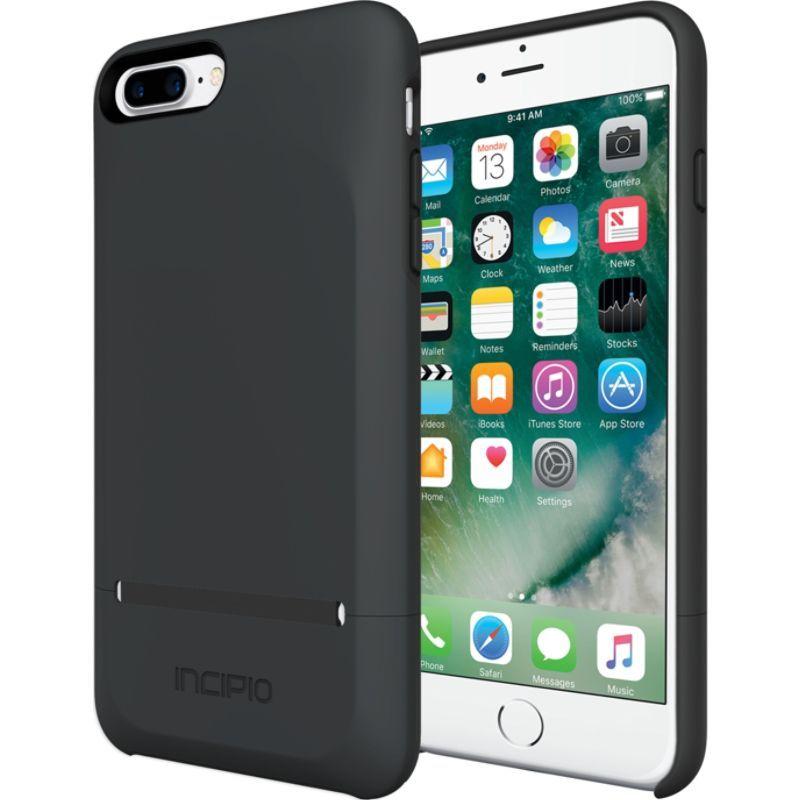 インシピオ メンズ PC・モバイルギア アクセサリー Stashback for iPhone 7 Plus Black