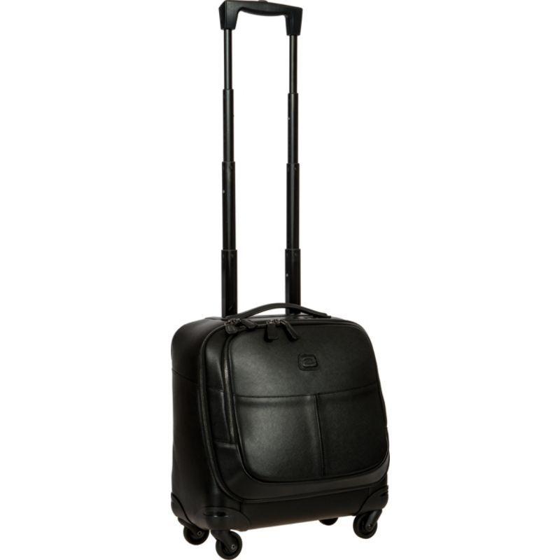 ブリックス メンズ スーツケース バッグ Varese 17 Wheeled Mobile Office Spinner Black