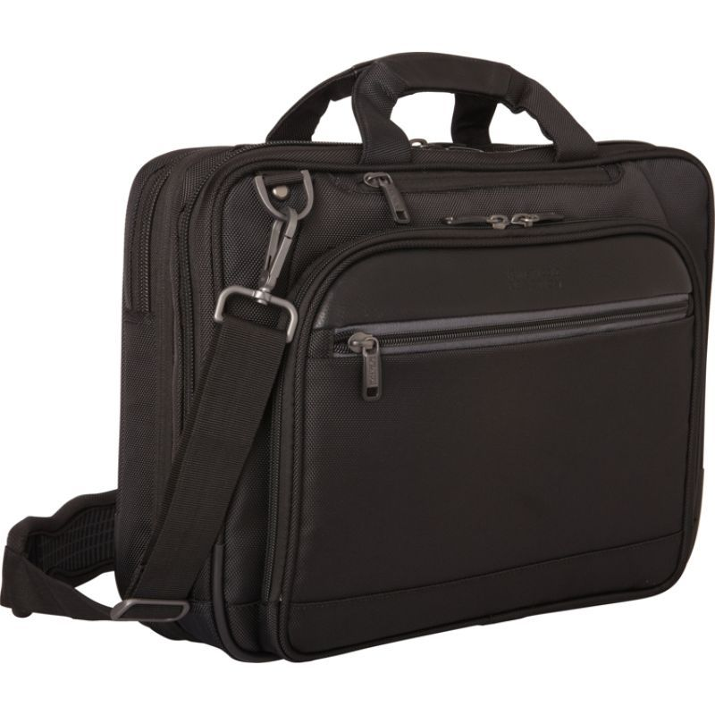 ケネスコール メンズ スーツケース バッグ ProTec EZ-Scan 14.1 Computer Business Case Black