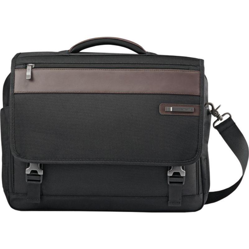 サムソナイト メンズ スーツケース バッグ Kombi Flapover Brief Black/Brown