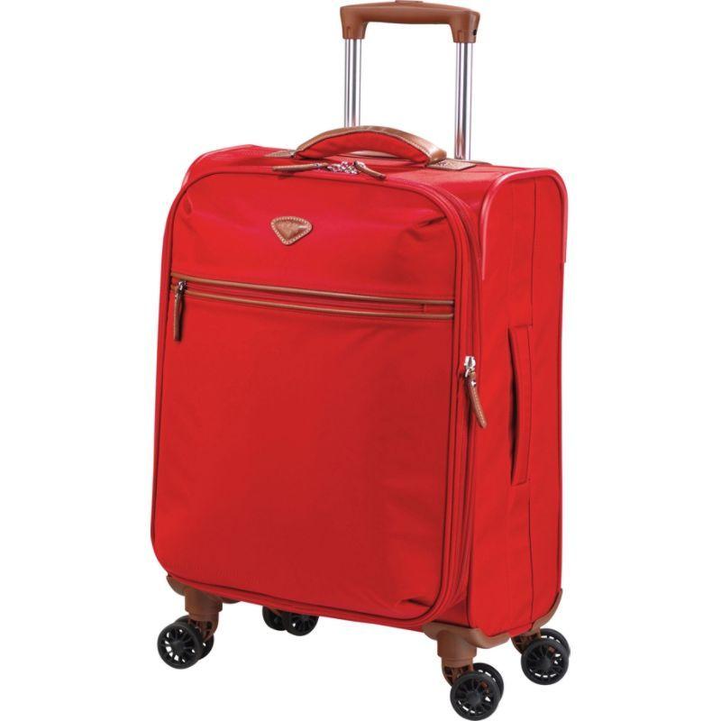 ジャンプ メンズ スーツケース バッグ Nice Expandable Carry-on Dual Spinner suitcase Poppy