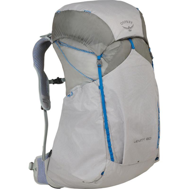 オスプレー メンズ バックパック・リュックサック バッグ Levity 60 Hiking Backpack Parallax Silver SM