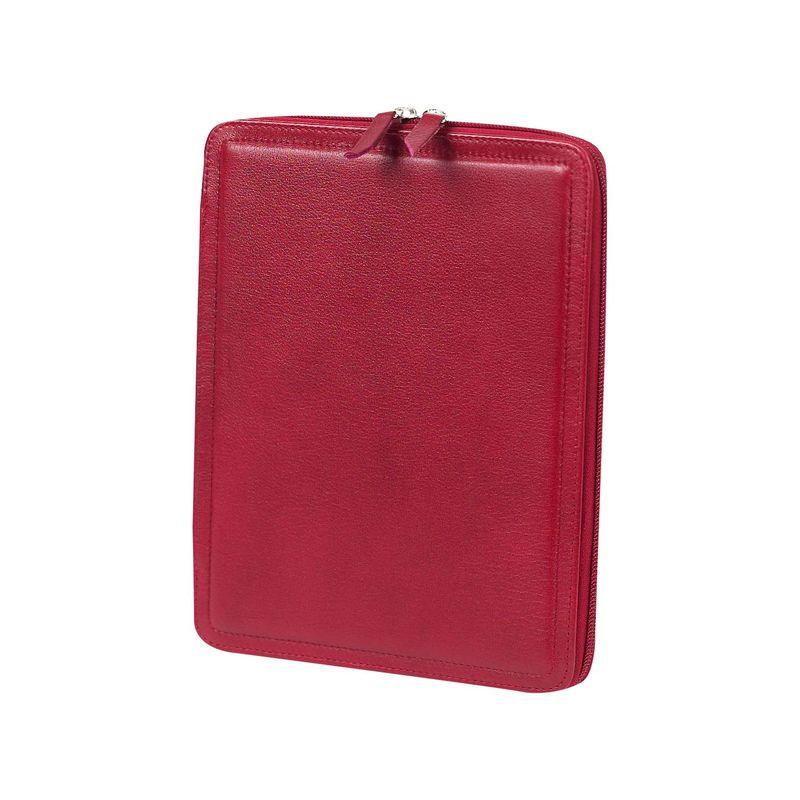クレアーチャイス メンズ スーツケース バッグ iPad Holder Red