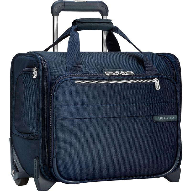 ブリグスアンドライリー メンズ スーツケース バッグ Baseline Rolling Cabin Bag Navy