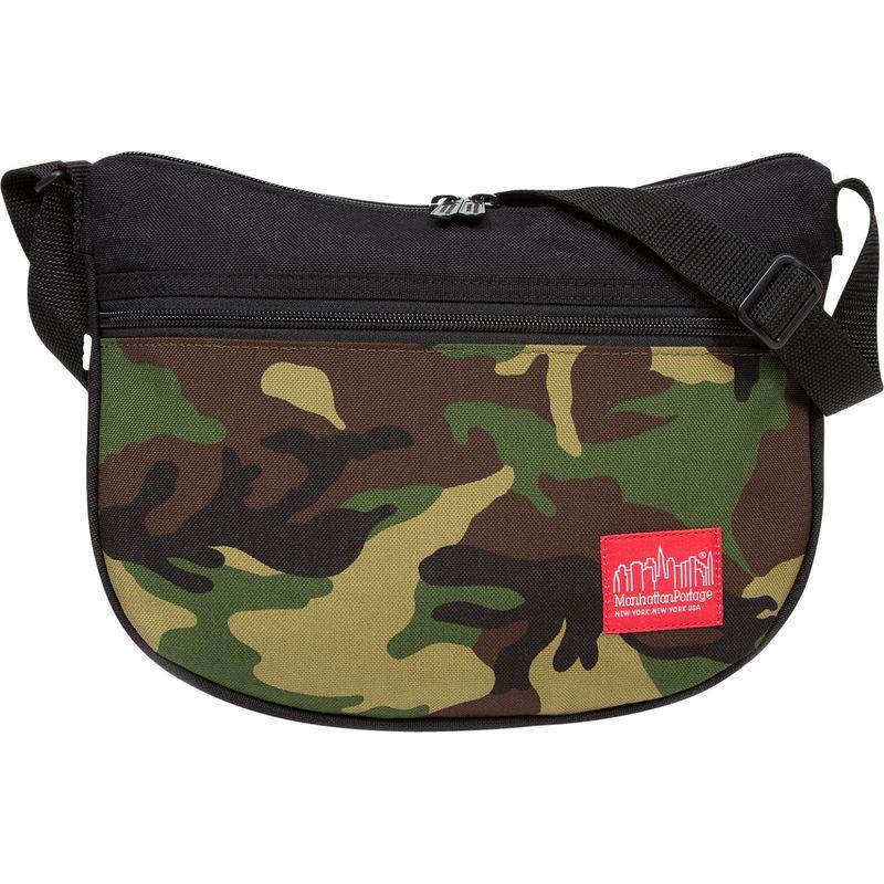 マンハッタンポーテージ メンズ ショルダーバッグ バッグ Bowling Green Shoulder Bag Camouflage