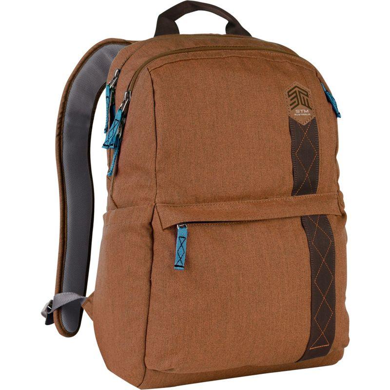 "STMグッズ メンズ スーツケース バッグ 15"" Banks Backpack Desert Brown"