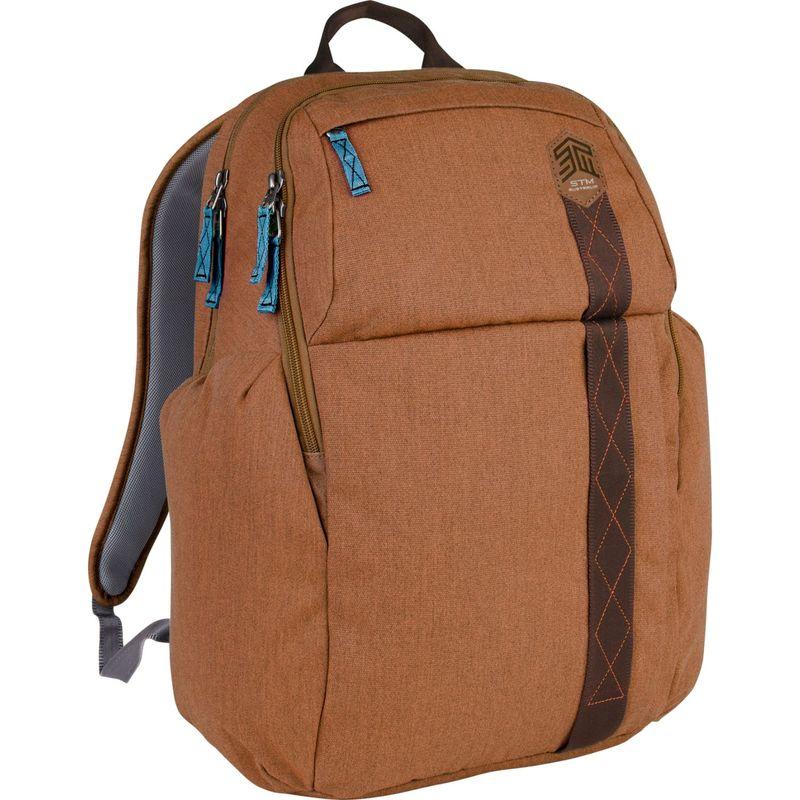 """STMグッズ メンズ スーツケース バッグ 15"""" Kings Backpack Desert Brown"""