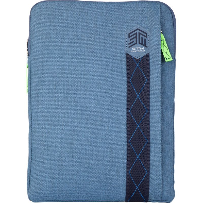 "STMグッズ メンズ スーツケース バッグ 13"" Ridge Sleeve China Blue"