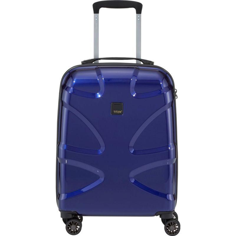 タイタンバッグス メンズ スーツケース バッグ X2 Hardside 21 Spinner CarryOn Midnight Blue