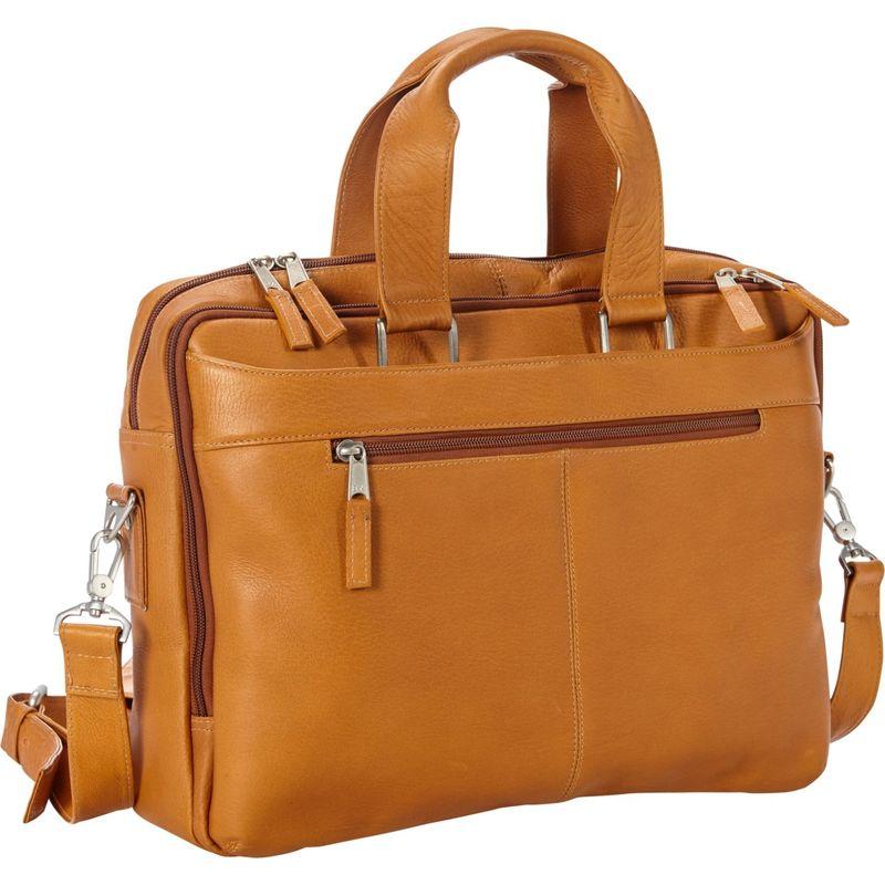 ピーターソン メンズ スーツケース バッグ Astoria Business Portfolio Tan