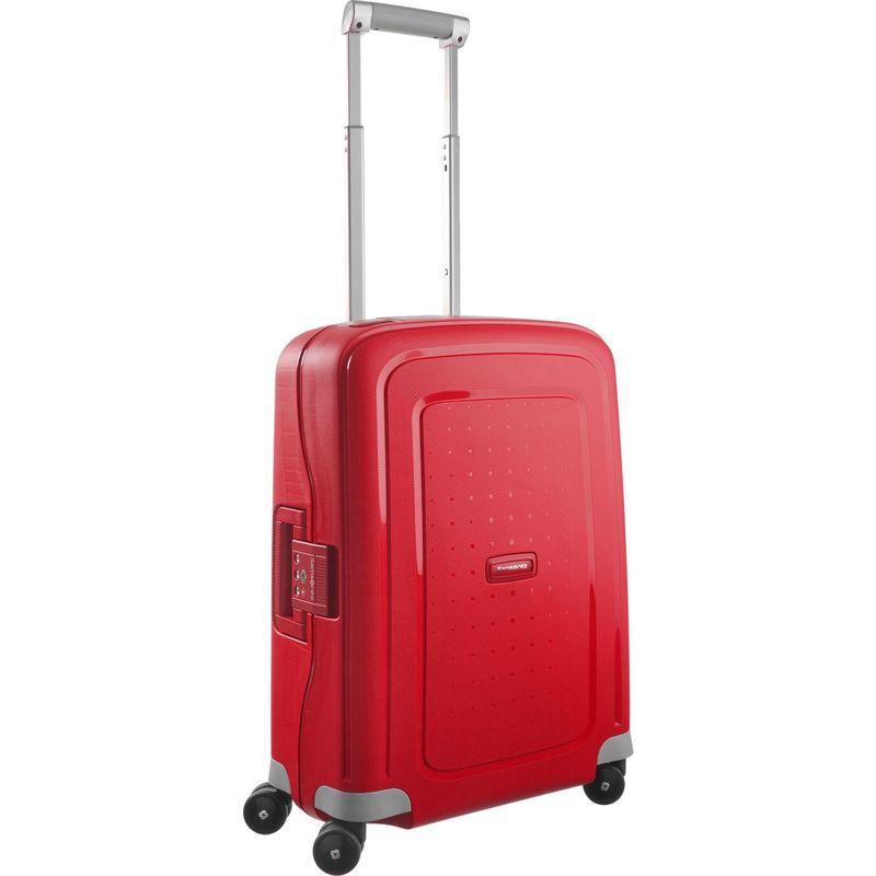 サムソナイト メンズ スーツケース バッグ S'Cure 20 Hardside Spinner Carry-On Crimson Red