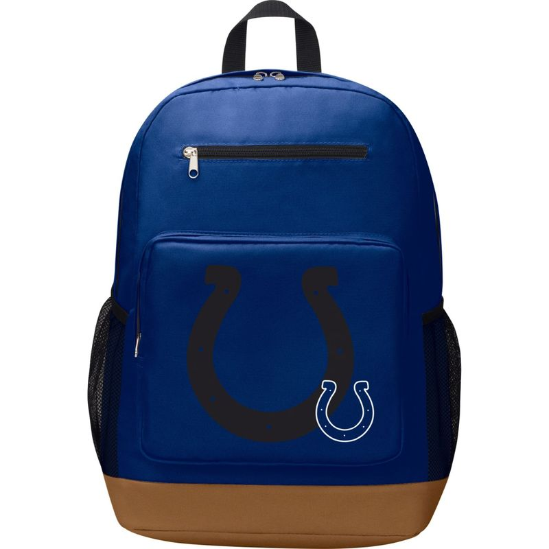 NFL メンズ バックパック・リュックサック バッグ PlayMaker Laptop Backpack Indianapolis Colts
