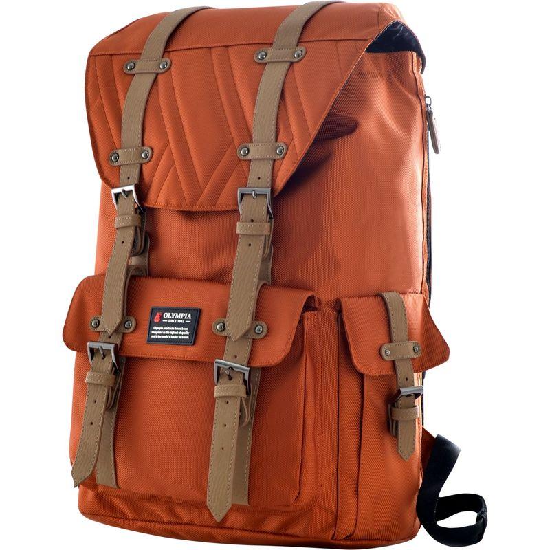 オリンピア メンズ バックパック・リュックサック バッグ Hopkins Backpack - 18 Sienna
