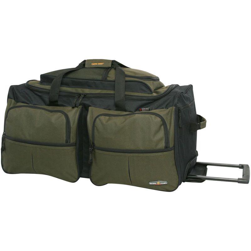 パシフィックコースト メンズ スーツケース バッグ 30 Large Rolling Duffel Bag Olive