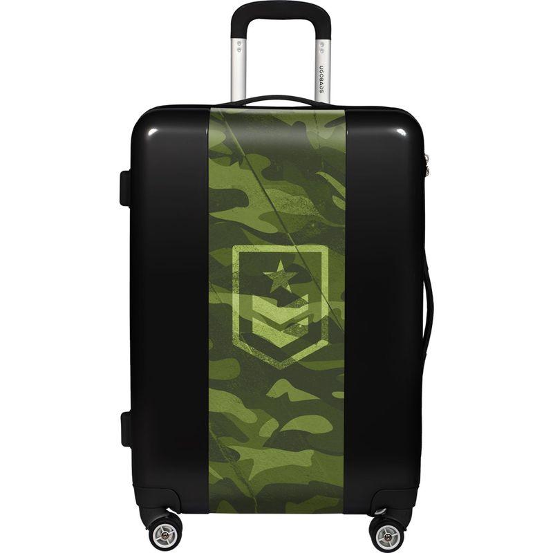 ウゴバッグ メンズ スーツケース バッグ Camouflage 22 Hardside Spinner Carry-On Black