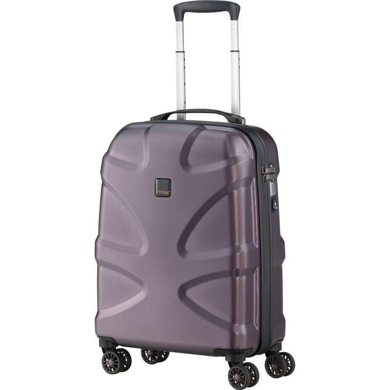 タイタンバッグス メンズ スーツケース バッグ X2 Hardside 21 Spinner CarryOn Maroon