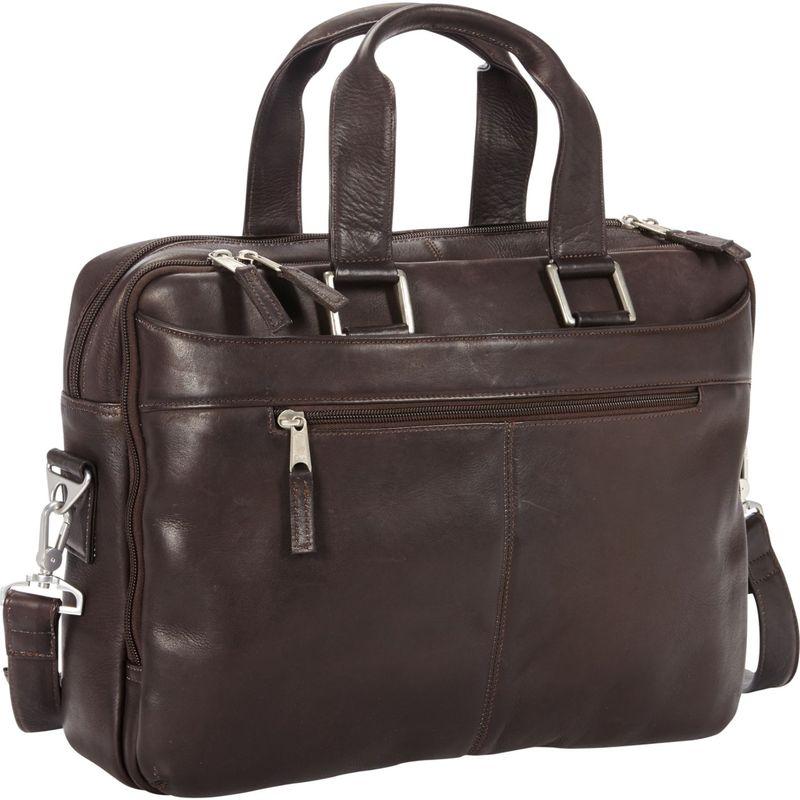 ピーターソン メンズ スーツケース バッグ Astoria Business Portfolio Brown