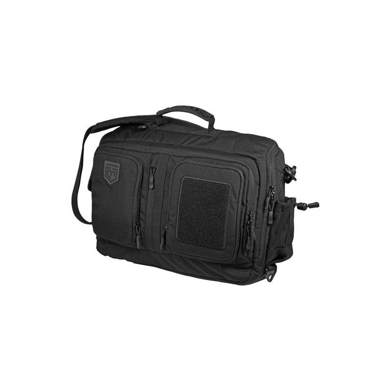 カンナエ プロギア メンズ スーツケース バッグ Viator Messenger Laptop Bag Black