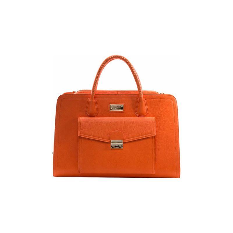 サンディーリサ メンズ スーツケース バッグ Portofino Shoulder Bag Orange