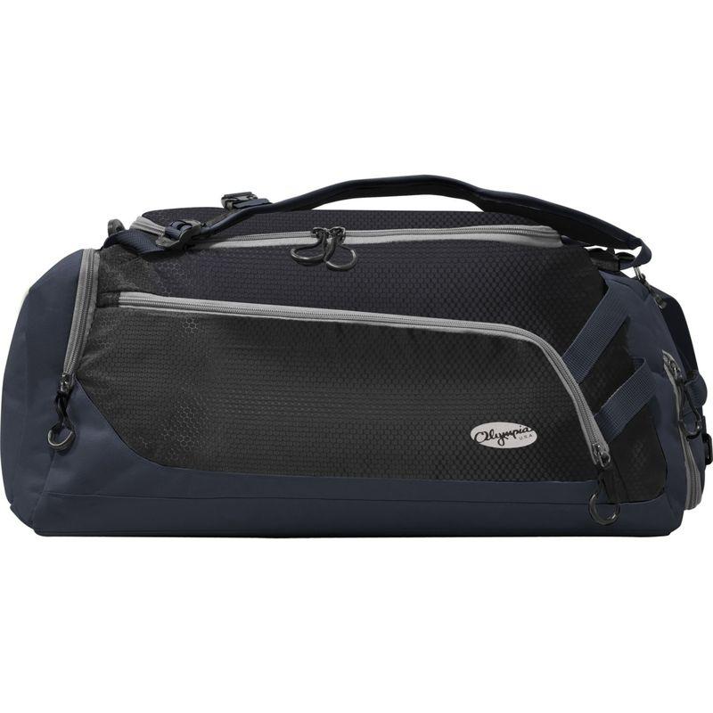 オリンピア メンズ ボストンバッグ バッグ Blitz 22 Gym Duffel with Backpack Straps Black+Navy
