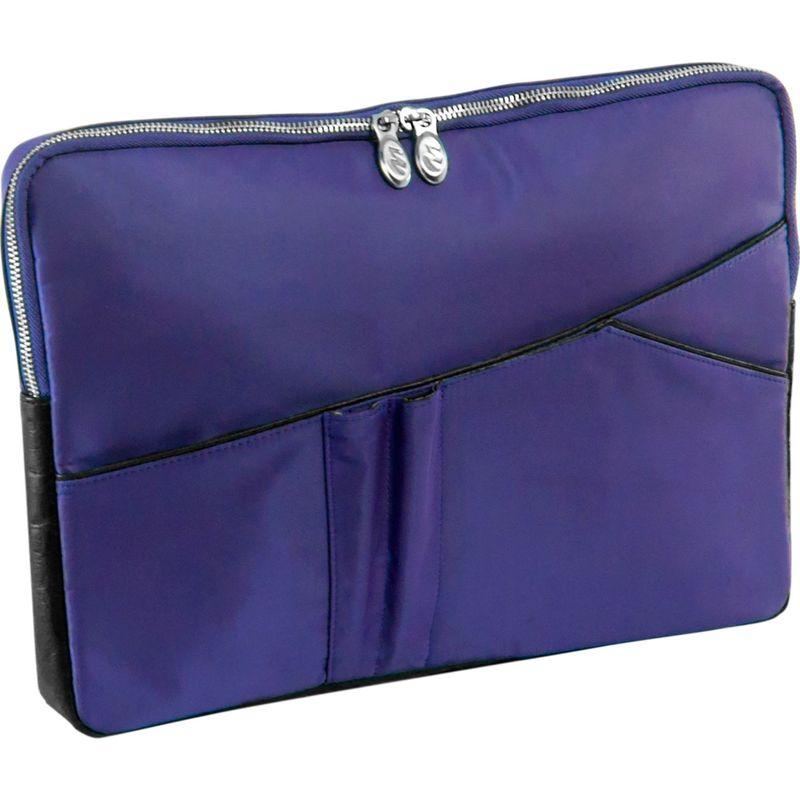 マックレイン メンズ スーツケース バッグ Auburn Laptop Sleeve Navy