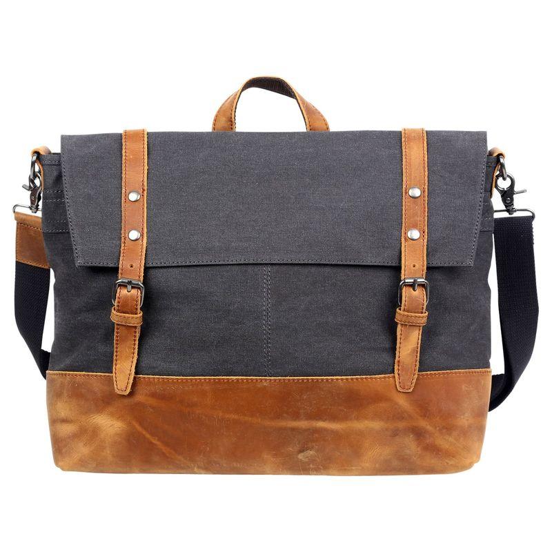 ティエスディー メンズ ショルダーバッグ バッグ Traveler Messenger Bag Grey