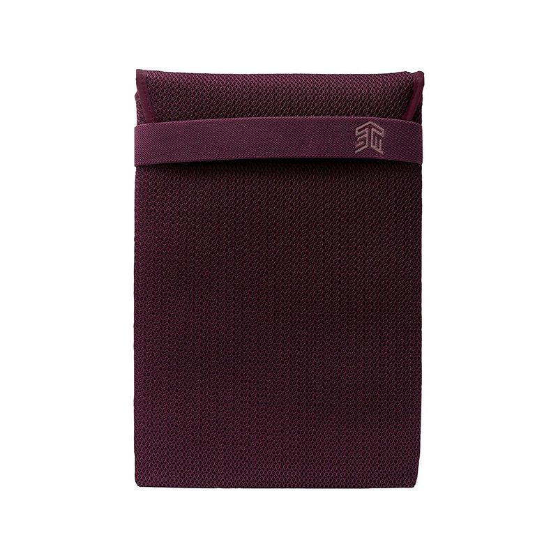 STMグッズ メンズ スーツケース バッグ Knit Glove 15 Laptop Sleeve Plum