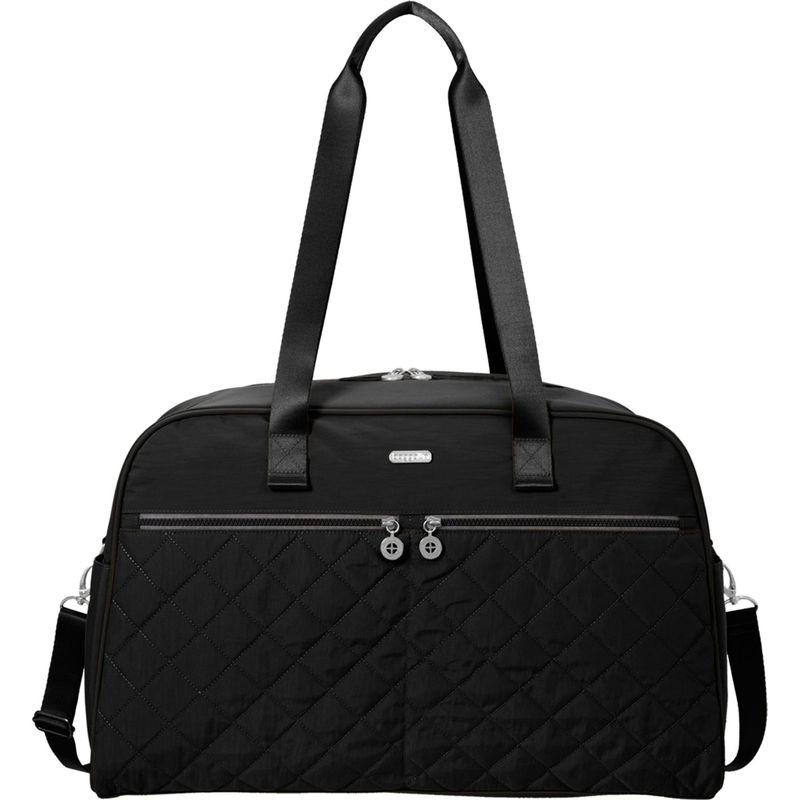 バッガリーニ メンズ スーツケース バッグ Varsity Duffel Black/Charcoal