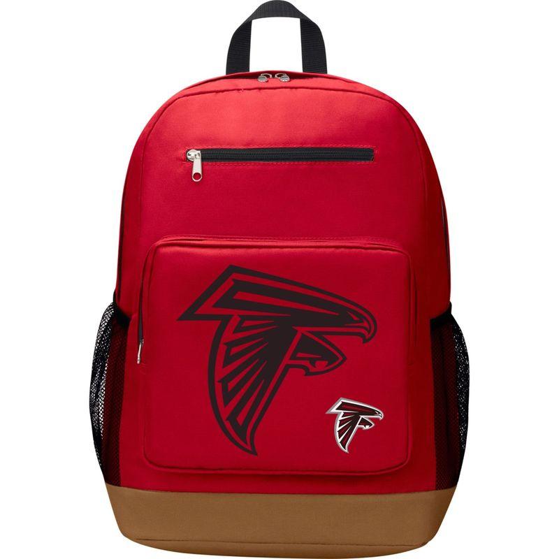NFL メンズ バックパック・リュックサック バッグ PlayMaker Laptop Backpack Atlanta Falcons
