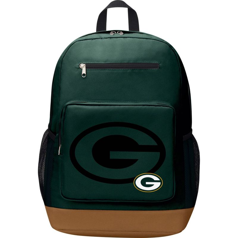 NFL メンズ バックパック・リュックサック バッグ PlayMaker Laptop Backpack Green Bay Packers