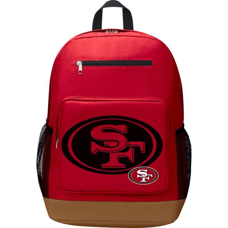 NFL メンズ バックパック・リュックサック バッグ PlayMaker Laptop Backpack San Francisco 49ers