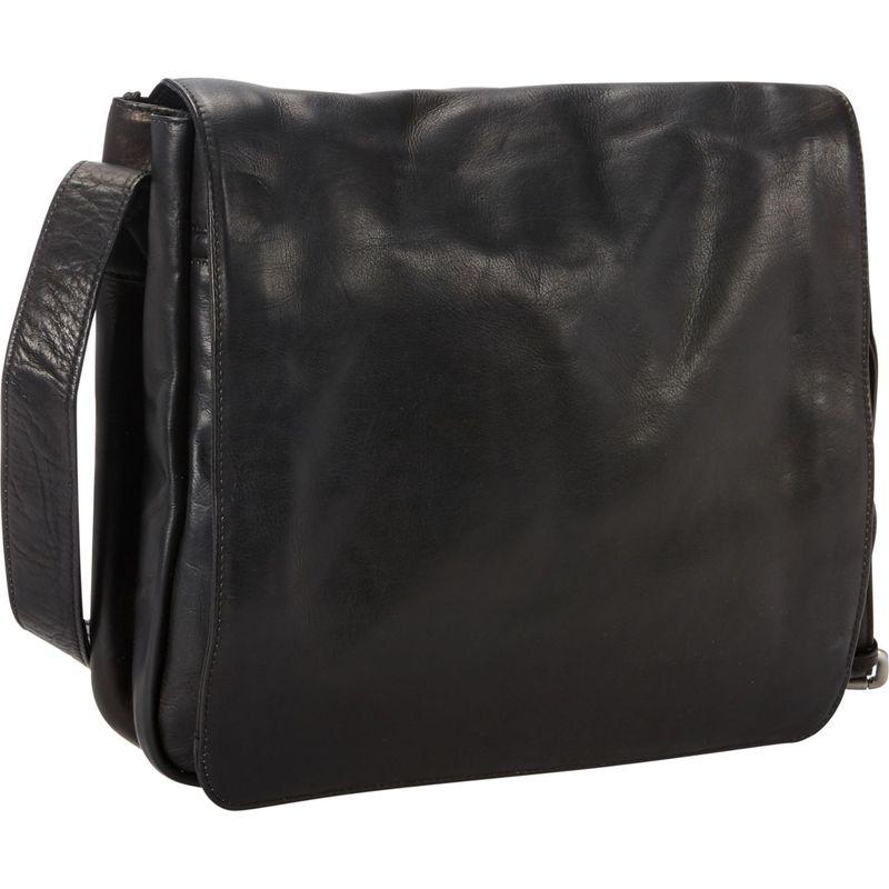ピーターソン メンズ ショルダーバッグ バッグ Coven Leather Messenger Black