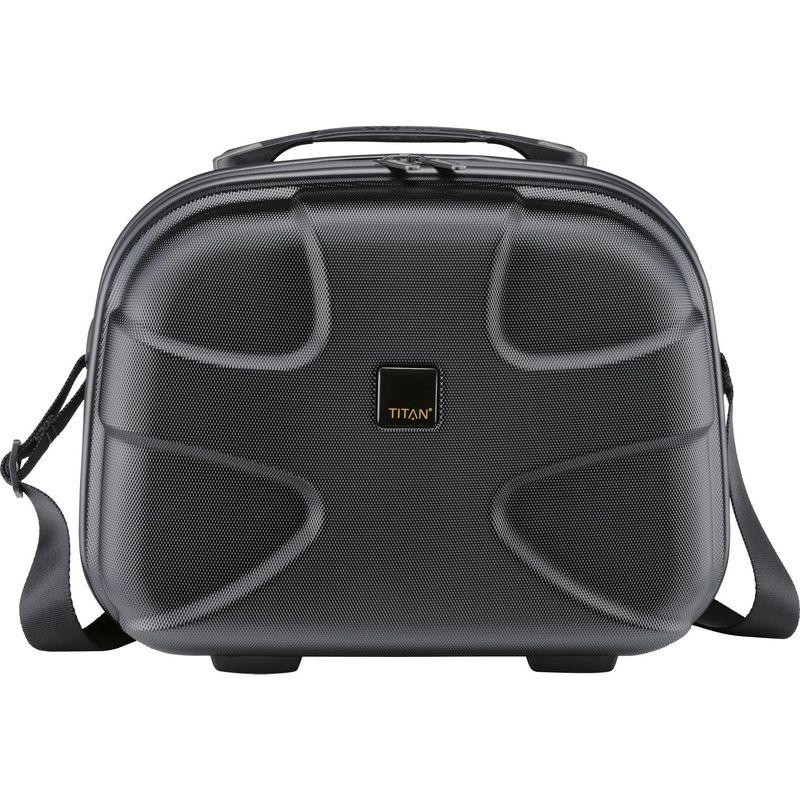 タイタンバッグス メンズ スーツケース バッグ X2 12.5 Hardside Beautycase Black