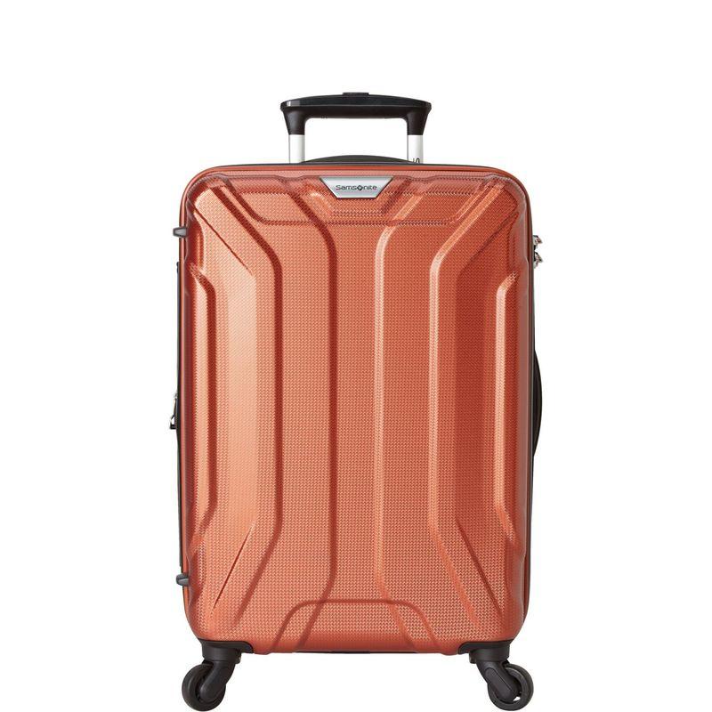 サムソナイト メンズ スーツケース バッグ Englewood 20 Expandable Hardside Carry-On Spinner - eBags Exclusive Dark Orange - Order Now: Ships 07/17/18
