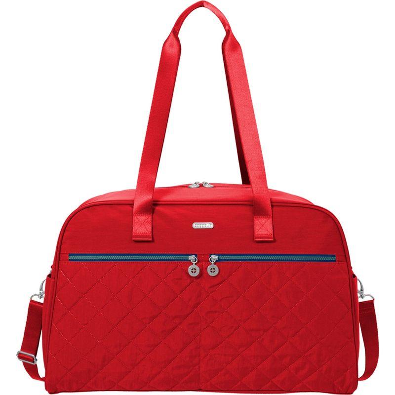 バッガリーニ メンズ スーツケース バッグ Varsity Duffel Red/Navy