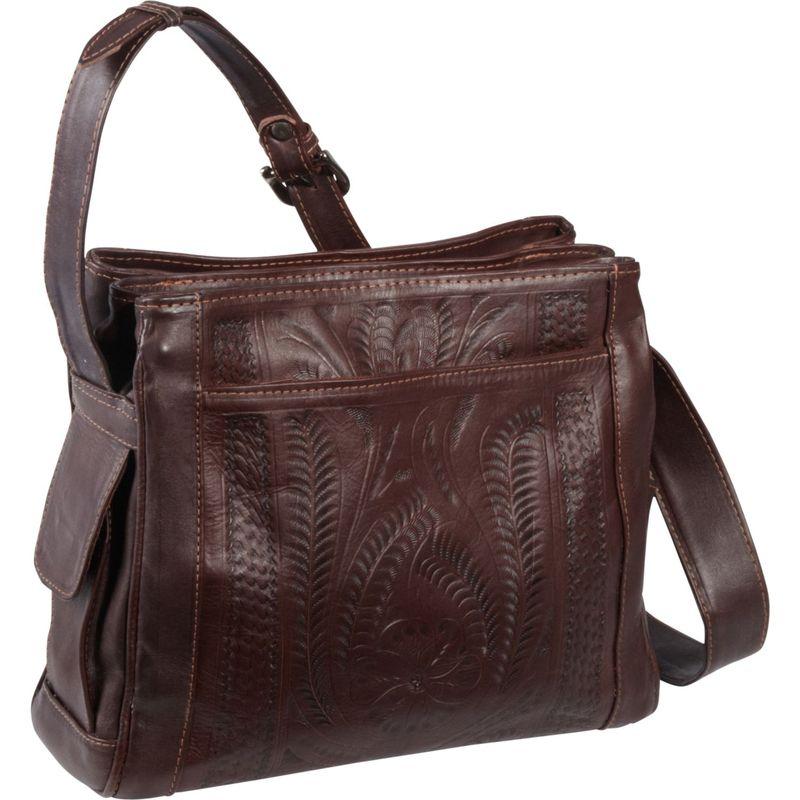 ロピンウェスト メンズ ショルダーバッグ バッグ Shoulder bag Brown