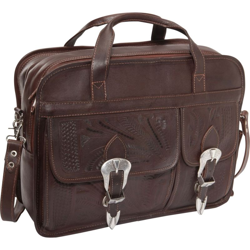 ロピンウェスト メンズ スーツケース バッグ Briefcase Brown
