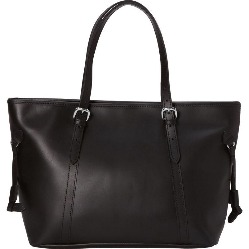 ヴァガボンドトラベラー メンズ トートバッグ バッグ 17 Large Leather Tote Black