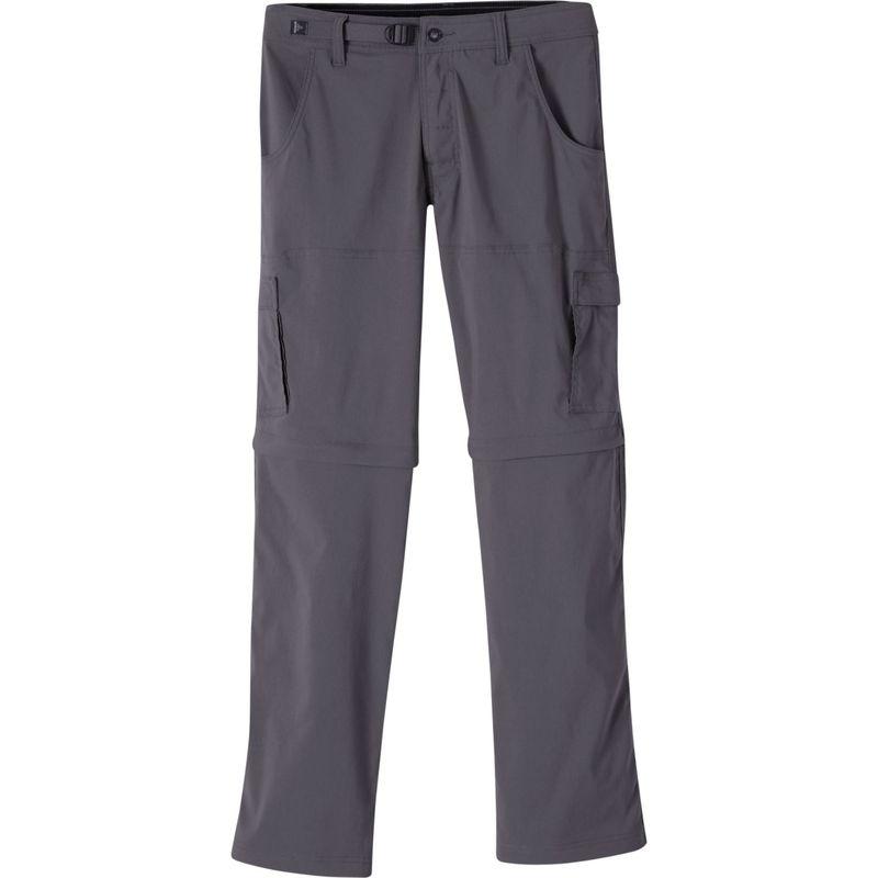 プラーナ メンズ カジュアルパンツ ボトムス Stretch Zion Convertible Pants - 32 Inseam Charcoal