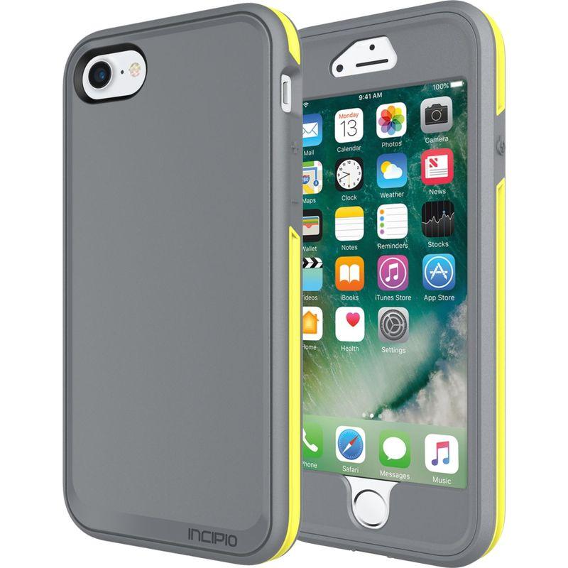 インシピオ メンズ PC・モバイルギア アクセサリー Performance Series Max for iPhone 7 Charcoal Gray/Yellow(CGY)
