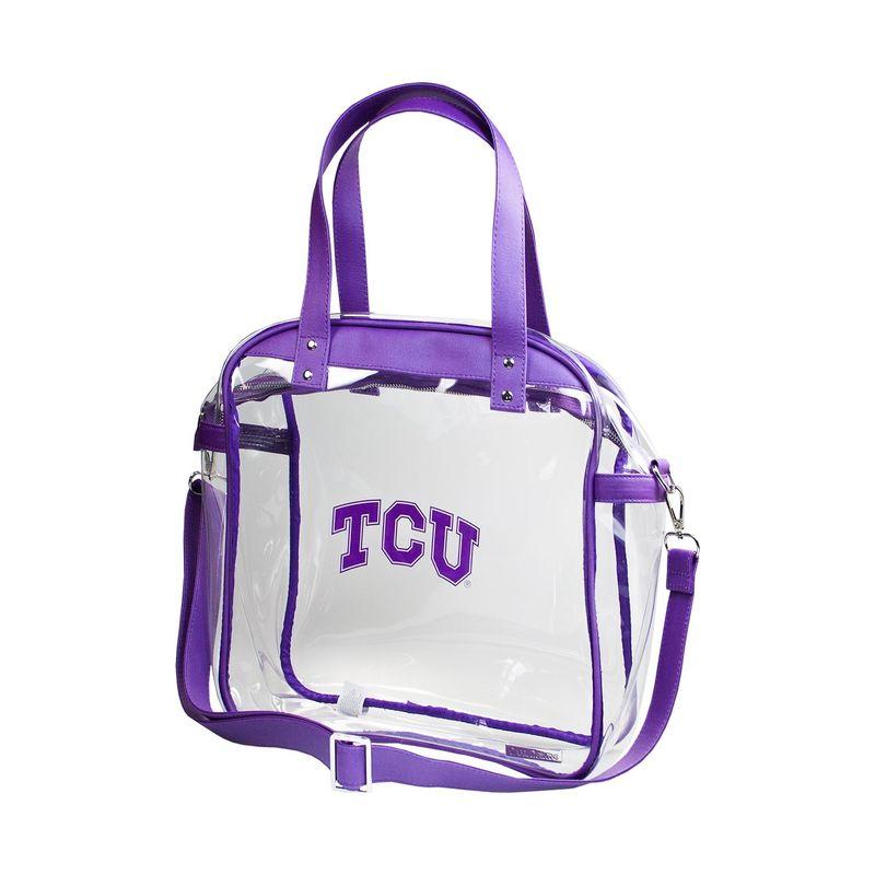 カプリデザイン メンズ トートバッグ バッグ Carryall NCAA Tote - Licensed Texas Christian University