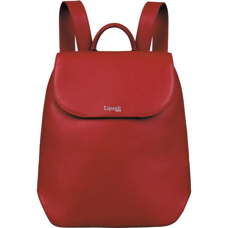 リパルトパリ メンズ バックパック・リュックサック バッグ Plume Elegance Small Leather Backpack Ruby