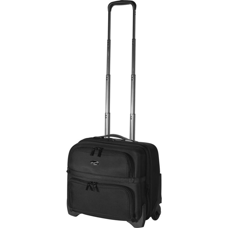 オリンピア メンズ スーツケース バッグ 18 Business Rolling Tote Black