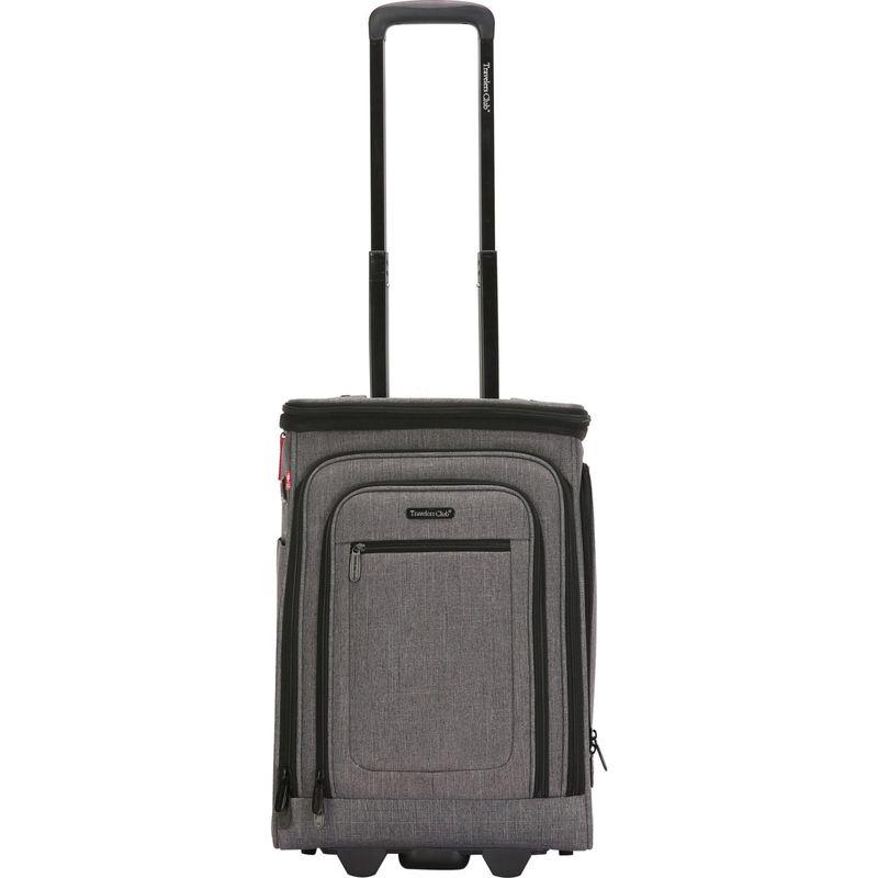 トラベラーズクラブ メンズ スーツケース バッグ Rogers 20 Expandable Wheeled Carry-On Dark Gray